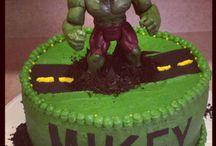 Torte Di Compleanno Con Hulk