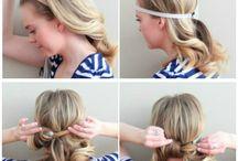 HAARE / Frisuren, Haarschnitte, Haarfarben usw
