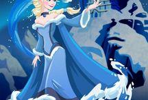 Disney crossover art / Disney Princesses, Avatar, Star Wars