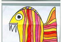 Рыбка рисунок