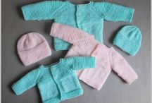 knitting newborn jacket