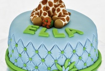 Giraffe Themed Cakes / by Ashley Dickerson