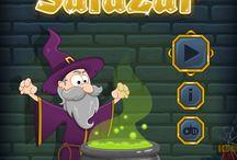 Salazar / Salazar The Alchemist - puzzle html5 game