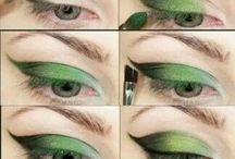 Oog make-up/schmink