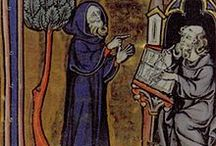 Merlin / Medieval and later depictions of the Merlin