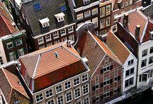 Havengebied / Het prachtige historische havengebied van Dordrecht