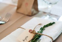 Rustic Wedding Decos