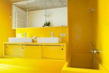 Polyster badkamer