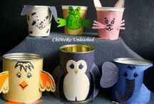Crafting with the Kids / Crafty projects made with or for kids!