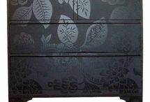Møbler og opbevaring / Møbler dekoreret på en anderledes måde og Smart opbevaring