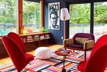Bright bold colours / Celebrating the use of bright bold colours in interior design / by kropped