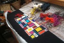 Weavings / Kudonnaisia,kudontatekniikoita, suunnitelmia