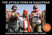 Top Attractions in Rajasthan / Read blog on Top Attractions in Rajasthan  http://letsgoindiatours.blogspot.in/2016/04/top-attractions-in-rajasthan.html