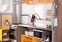 Cozinhas sem armário