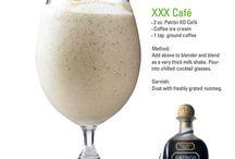 Xo cafe chocolate coffee patron drinks