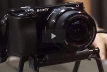 Sony A6000 / Camera settings lenses