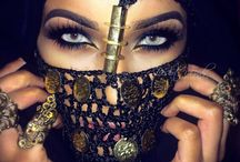 Arabische make-up
