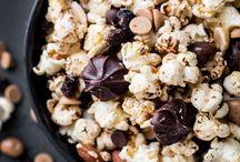 | Snacks | / Snacks recipes! Popcorns, crackers etc.
