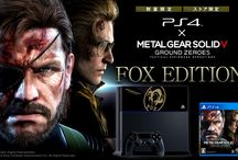 Metal Gear Solid : Consoles Collector (PS4 - PS3 - PSP - 3DS) - Artworks