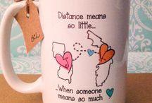 mug ideas / by Melita Heisey