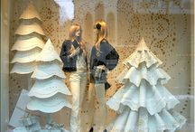 Χριστουγεννιάτικη διακόσμηση βιτρινασ