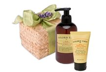 """Gilden Tree 2013 Holiday Spa Gifts / Fun, creative, spa gifts!  Our eco-friendly spa stocking stuffers are """"wrapped"""" in soft, cotton waffle weave bath mitts, and lovely pandan boxes.  So pretty - and totally reusable!  Please visit GildenTree.com to see our new Stocking Stuffers!"""