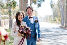 BN{Real Wedding Feature} by Polka Dot Bride LORI & CONOR'S VINEYARD LUNCHEON WEDDING
