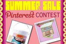 """Jerry's Summer Sale Pin It To Win It Contest"""