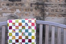 Postage stamp quilts