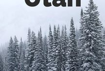 Winter Sports Bucket List / Bucket list locations for winter sports. Skiing, snowshoeing, cross country skiing, winter hiking and more!