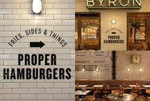 burger shop design