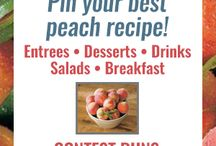 Pearson Farm Peach Recipe Contest Winners / We're so happy to announce the winners of our Pearson Farm Peach Recipe Contest!