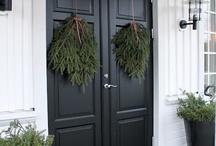 Fina dörrar hus