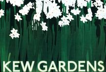Graphics Exam Initial Research / Collection of poster of kew gardens for AS Graphics