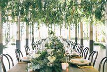 Weeding table arrangements