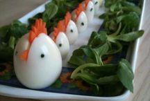 kananmunatiput, syötävät