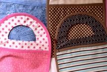 Cosias em tecido