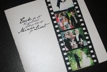 Tackkort/inbjudningskort bröllop