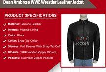 WWE Wrestler Leather Jacket