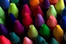 Art joutnal wax pastels  water soluble