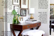 Foyer and Entryway Ideas / Ideas for foyer and entryway designs at home