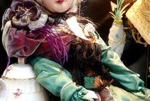 Budoárové panenky (Boudoir doll)