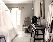 RUSTIC BEDROOM / Mix of ideas for Rustic/Hunter Lodge/Scandinavian Bedroom