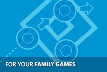For Your Family Games / #Printables and instructions for your at-home #FamilyGames / by Allstate Insurance