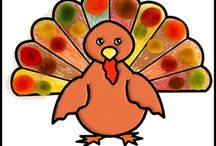 Thanksgiving Crafts Kids Can Make / Thanksgiving Craft and Learning Activities with a Thanksgiving Holiday and Fall Theme / by Danielle's Place of Crafts