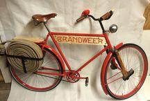 Brandweer fiets