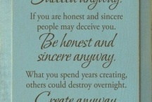 things worth re-saying / by Janet Kestle