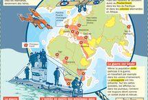 carte histoire du monde 20es