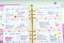 Week Decoration / Filofaxing / Cute, Amazing, pretty week decoration of beautiful planners <3