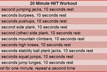 20 minute workout / by Jane McGrath